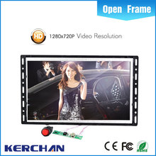"Promotional multi-function rotatable fashion style 10"" tela lcd de publicidade alto-falantes advertising display"