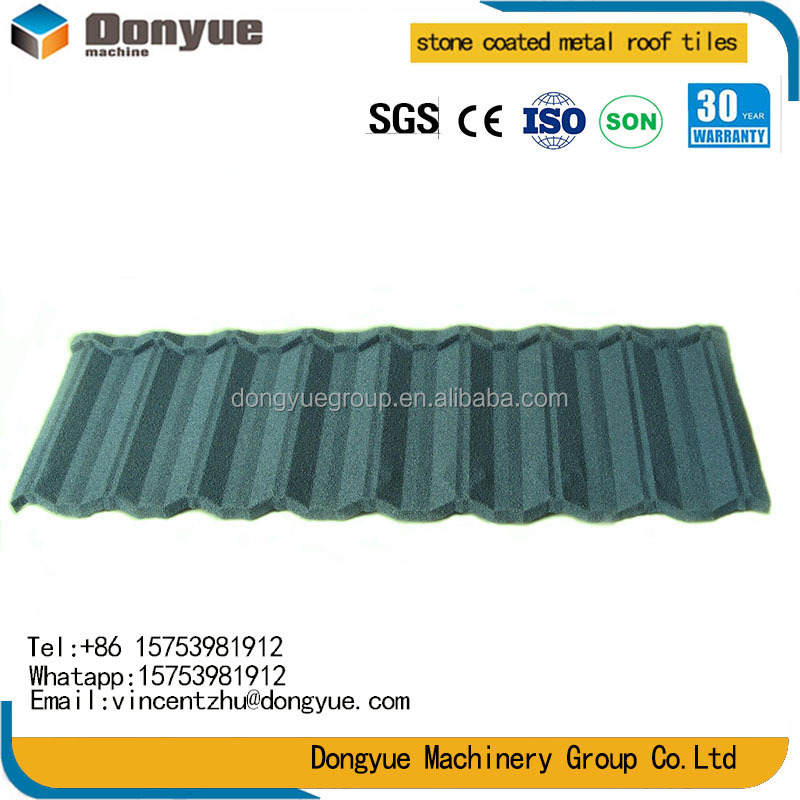Grey stone Metal Roof Tiles/ High Quality factory direct Sand Coated Metal