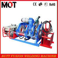 63-160mm HDPE pipe butt fusion welding machine