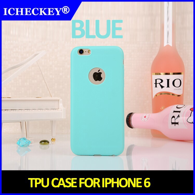 [ICHECKEY]2015 New TPU Mobile Phone Back Case Cover For iPhone 6 Plus iPhone6 Huawei Honor 4C Case