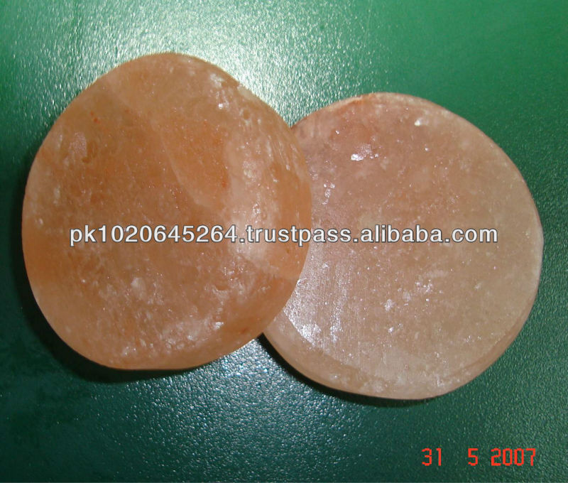 Female Body Use Crystal Himalayan Massage Salt Stone