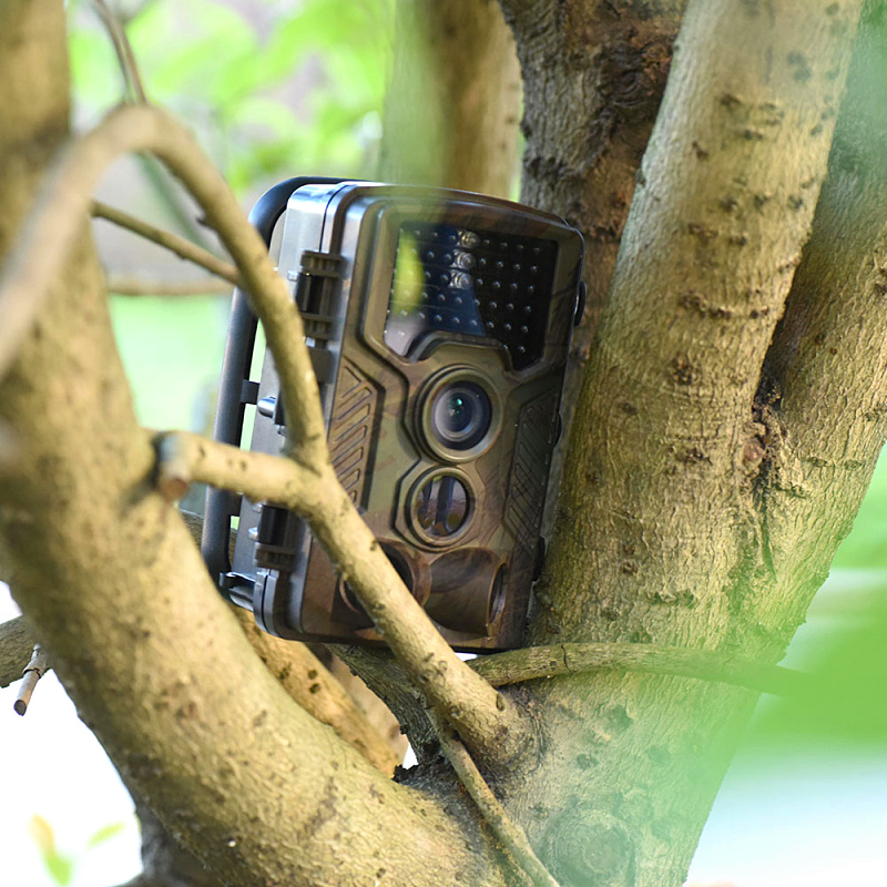 "Hot Hunting Trail Cameras with 2.4"" TFTLCD Night Version Animal Tracking Wildlife Sports Camera DVR Video Action Cameras H801"