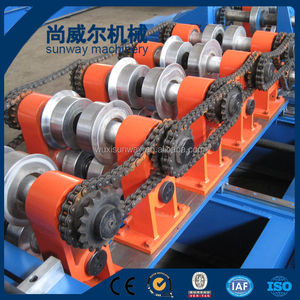 Metal Profile Making Line Steel C Z Purlin Roll Forming Machine