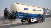 31T loading weight cement silo semi trailer truck for sale