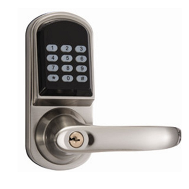 Hot Selling Waterproof Z-Wave Remote Control Fingerprint Door Lock With RFID Card LC901