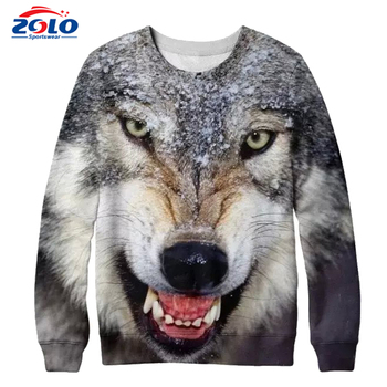 Cheap Fashion Style Custom 3D all over Printing Crewneck Sweatshirt