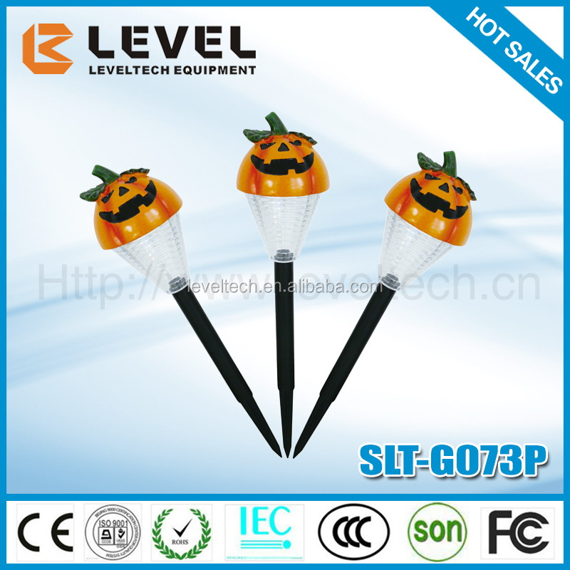 Wholesale Custom Made Halloween Pumpkin Light Solar Pumpkin Lamp In Holiday Lights Solar Pumpkin Lamp For Holiday Crafts