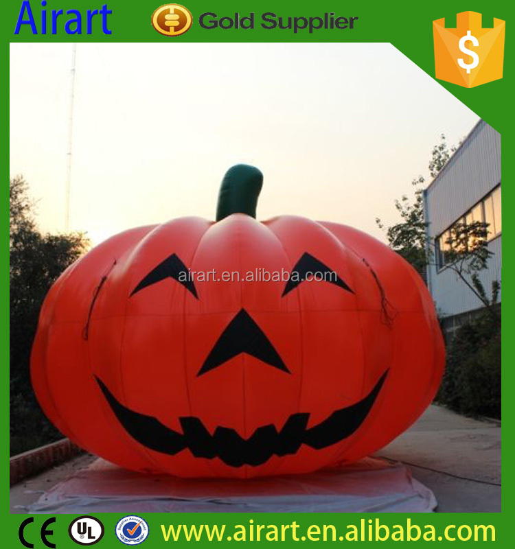 Outdoor giant inflatable pumpkin, inflatable yard decorations for Halloween