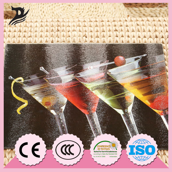 20*30CM Competitive Price Unbreakable Glass Cutting Board