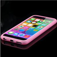 Fashion Candy Colors Soft TPU Silicone Shockproof Case for Apple iphone 6/6S