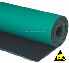 Custom Cleanroom Use Anti-static Rubber Sheet / Anti-Static Table Mat