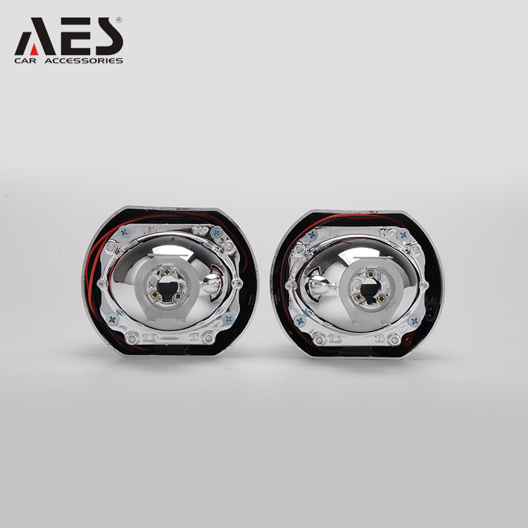 AES G5 COB angel eyes hid bi xenon colorful projector lens kit,15.5mm xenon special bulbs headlight