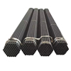 Building construction materials black welded round steel pipes
