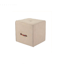 China factory cheap modern furniture mini cube kids ottoman