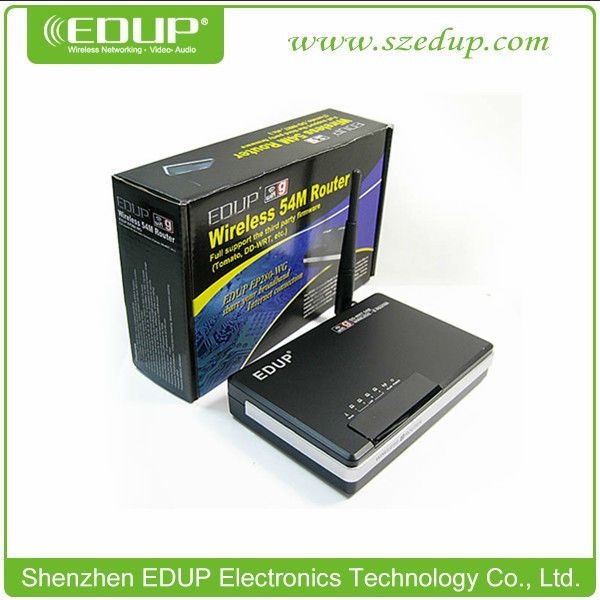 EDUP Wireless 802.11G Router + 4Port support DD-WRT/TOMATO