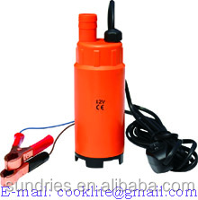 12V DC Oil Diesel Fuel Refuelling Pump 30L/Min