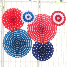 Decorative paper fan wedding/Event & party supplies paper fan decoration/Christmas paper fan custom