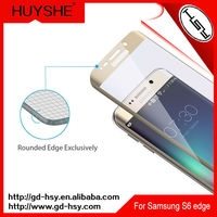 HUYSHE Mobile Phone Use 3D tempered glass screen protector galaxy s6 edge