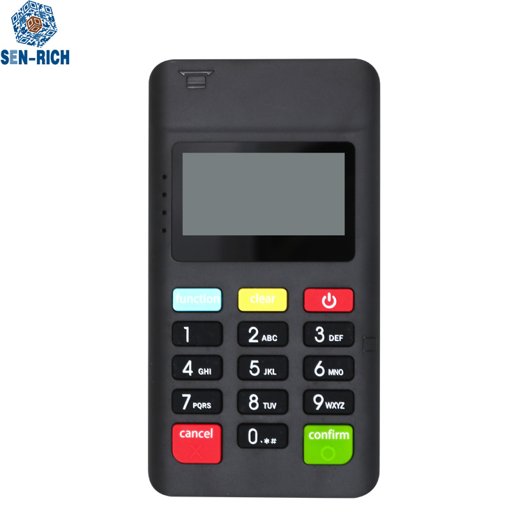 Mini POS machine wireless handheld mpos terminal with Magnetic card/IC card/nfc reader for android and ios