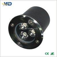 3w led underground lamp outdoor AC90-277V DC12V DC24V led underground 12 volt led lights