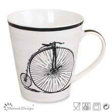 black bicycle design in decal for new bone mugs or cups in 2014-2015