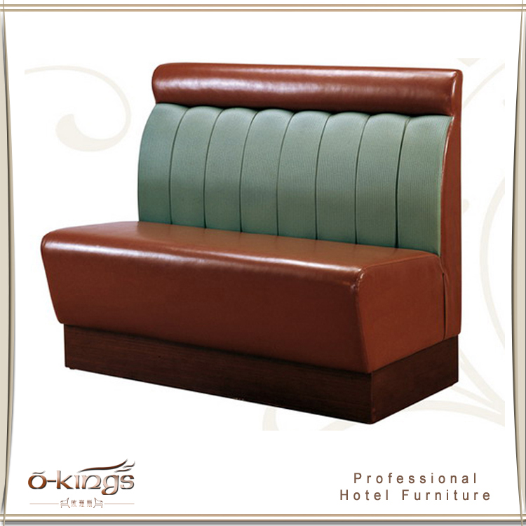 Modern design classic leather restaurant sofa for sale for Traditional leather sofas sale