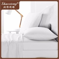 100% cotton bleached white duvet cover for india duvet covers