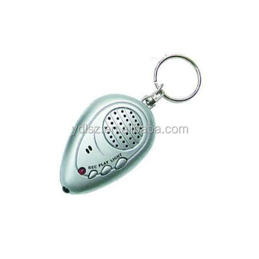 recordable sound music keychain