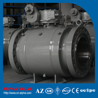 API6D Standard Pipeline Fully Welded Ball Valve