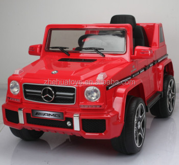 Kids licensed ride on car Mercedes Benz G63 ride on cars kids 12 Volt