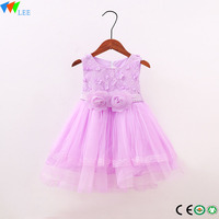 Beautiful Lace Dress Baby Girl Princess Dress Sequined Birthday Party dress