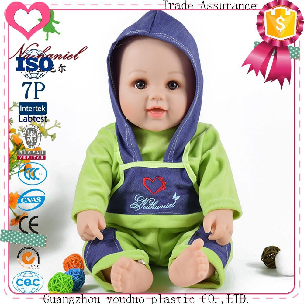 Eco-Friendly Cute New Real Soft Plastic Baby Doll For Sale