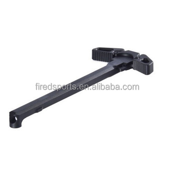 MTS7045--AR-15/M16 Steel .223 Ambidextrous Oversized Latch Charging Handle Assembly
