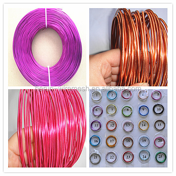 HR Anodized Aluminum Craft Wire