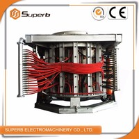 Automatic High Melting Efficiency Steel Melting Electric Furnace