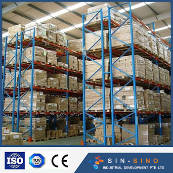 Free designed durable heavy duty pallet rack for industrial warehouse storage