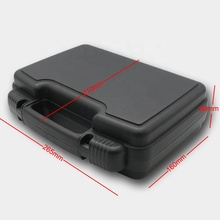 lightweight plastic case with pre-cut foam for medical <strong>equipment</strong> of surgeries