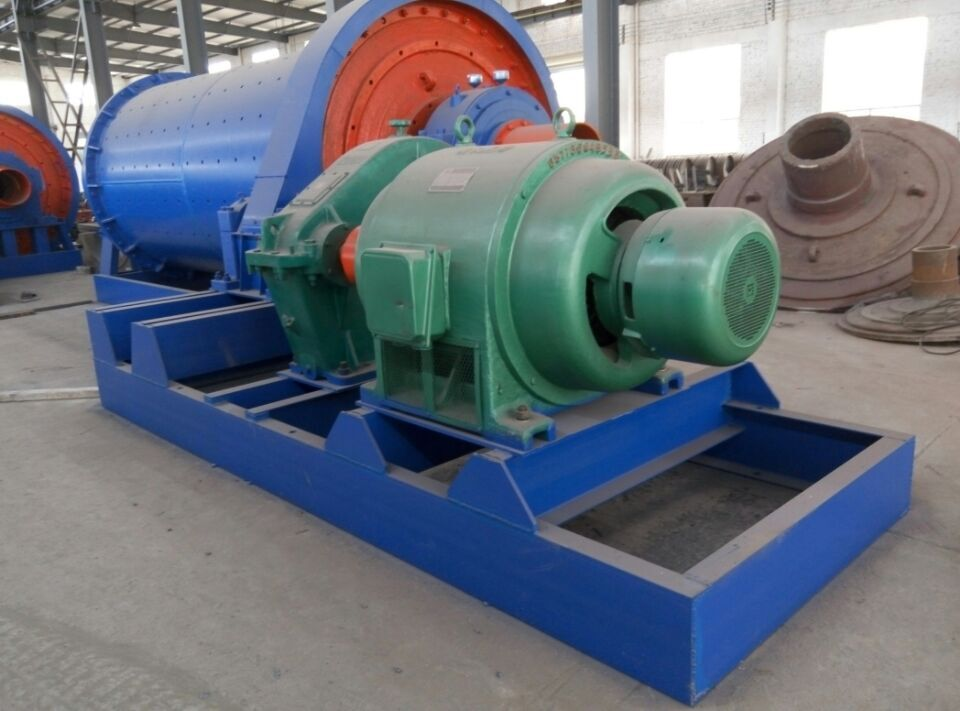 High Efficiency Ball Mill For Ceramic Industry Production Line