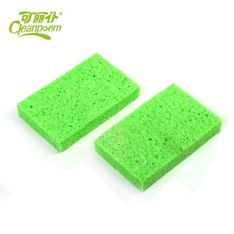 All purpose cellulose scouring pads