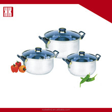 Household Pots And Pans Set Stainless Steel Cookware