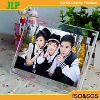 JLP 95mm*60mm acrylic sign holder,acrylic photo frame