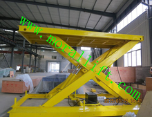 used auto garage equipment/hydraulic scissor car lift