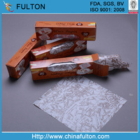 light weight 35g coated wax paper /Paraffined Paper / Printed wax paper