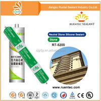 One component neatural general purpose silicone sealant for application glass & aluminum