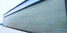 Automatic Open Style and Finished Surface Finishing Perforated Garage rolling Door