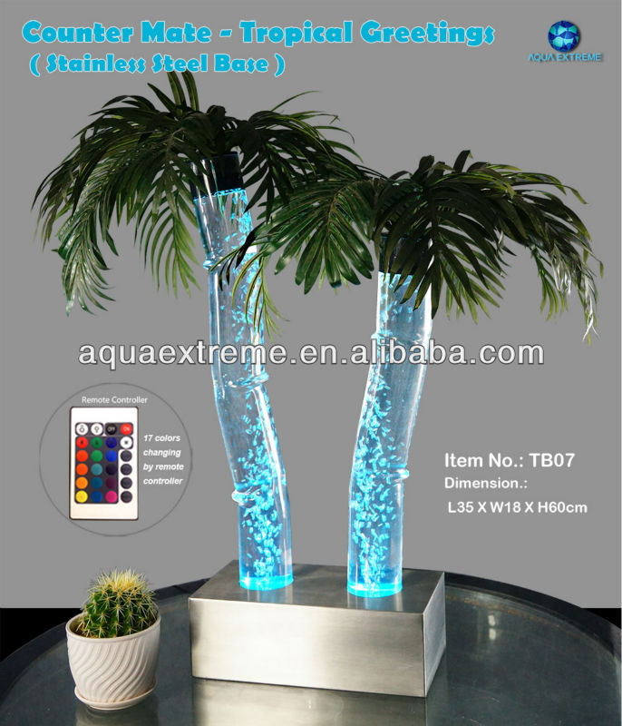 Tropical Palm tree, for table top decoration.