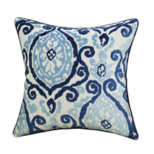 Avigers Home brilliant latest design decorative cushion cover bule geometric pillow case cover for sofa 18*18inch
