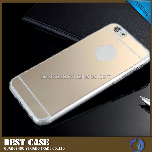 High quality newest tpu mirror phone case for iphone 5, for iphone 5 back cover