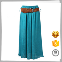 Wholesale clothing Latest design Fashion cotton ladies office skirt