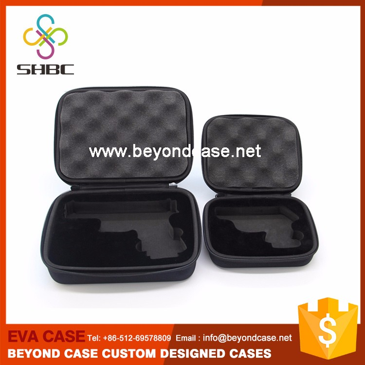 Wonderful Security Aluminum Eva Hard Gun Case